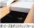 床:ビーズ法ポリスチレンフォーム