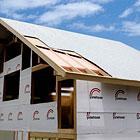 屋根:アルミ遮熱シート