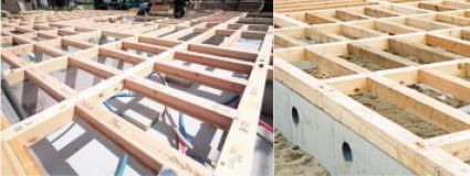 剛床工法/夢ハウスの剛床工法は一般在来工法よりも剛床制2.5倍!!(財)建材試験センター中央試験センター測定